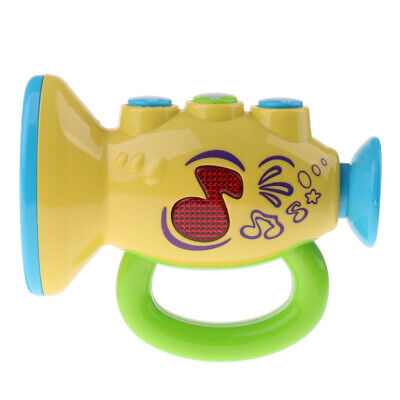 Baby Music Toy Electronic Trumpet Musical Instruments Toys Gifts For Toddler • 10.24£