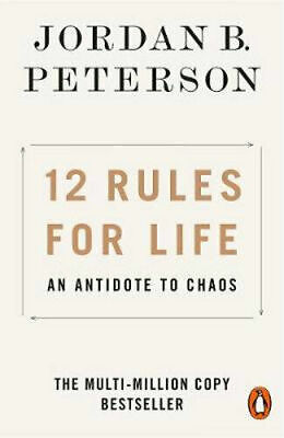 AU18.25 • Buy 12 RULES FOR LIFE By Jordan B. Peterson BRAND NEW On Hand IN AUSTRALIA!