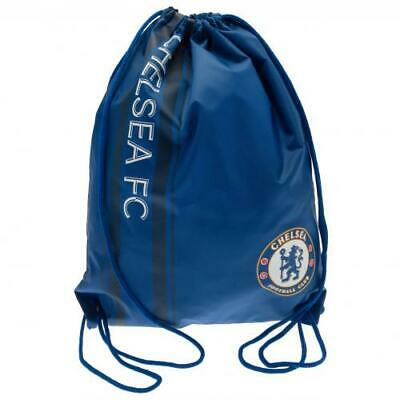 £11.69 • Buy Chelsea FC Official Crested Gym Bag Drawstring Bag Present Gift Pensioners Blues