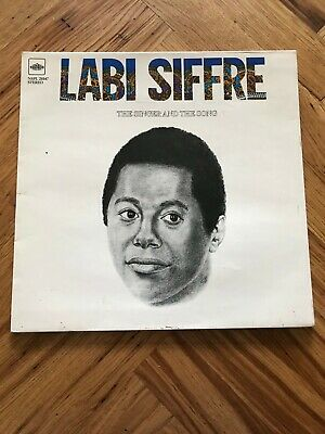 Labi Siffre ‎– The Singer And The Song LP Pye International ‎NSPL 28147 12  LP  • 7.75£