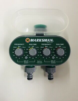 IRRIGATION SYSTEM Automatic WATER TIMER ELECTRONIC WATERING GARDEN Hose70287 • 24.99£