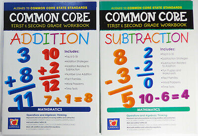 $ CDN13.20 • Buy Common Core First Second Grade 1st 2nd Addition Subtraction Homeschool Workbook
