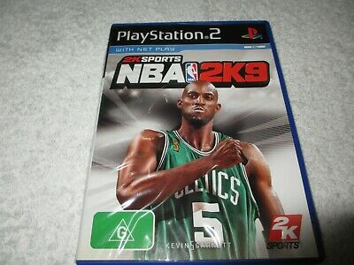 AU8 • Buy PS2 Playstation 2  Game NBA 2K9 With Booklet TT64