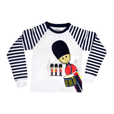British Royal Guard Soldier Child's Top With Fluffy Hat 3-4 Years New Tags  • 15£
