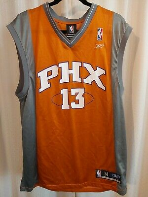 $ CDN42.99 • Buy  Mens Official NBA Reebok Pheonix Suns Jersey Number 13 Nash Size Medium