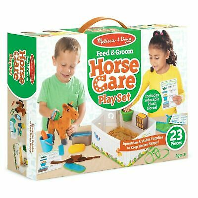 Melissa & Doug Horse Care Playset, Pretend Play, Toy, Accessories, Age 3 Years + • 20.82£