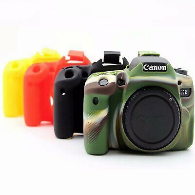 Camera Protective Body Cover For Canon EOS 77D 80D 70D Camera Soft Silicone Case • 10.61£