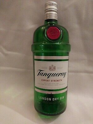 Tanqueray 1 Litre Gin Bottle. Empty • 6.20£