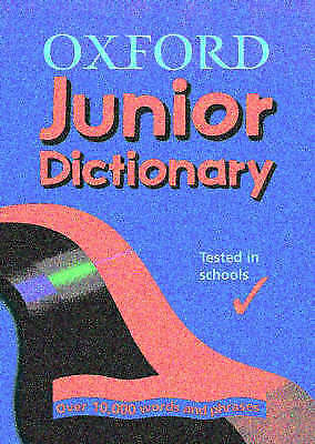 OXFORD JUNIOR DICTIONARY, Dignen, Sheila , Good, FAST Delivery • 1.95£