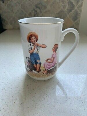 $ CDN14.95 • Buy Norman Rockwell Cup/Mug:  Music Master  1986 Museum Collections, Inc