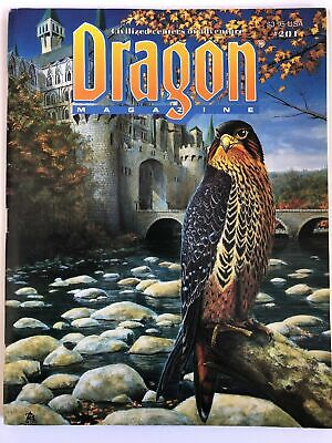 AU15 • Buy Dragon Magazine Dungeons And Dragons Issue Number 201