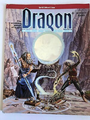AU15 • Buy Dragon Magazine Dungeons And Dragons Issue Number Special 200 Poster Intact