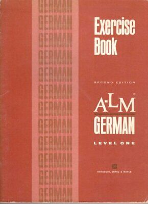$ CDN31.53 • Buy A-LM German, Level One, 2nd Edition, Exercise Book [Workbook] Harcourt Brace