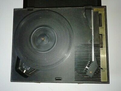 240v Boxed 1970's Fidelity Hf42 Portable Record Player With Lid Working Order • 39.99£