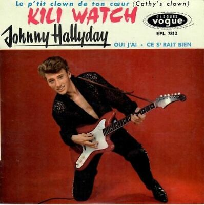 AU9.91 • Buy CD   Johnny Hallyday - Kili Watch   - Blister Pack New
