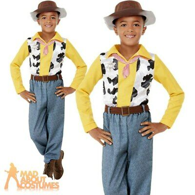 £18.99 • Buy Child Western Cowboy Woody Costume World Book Day Fancy Dress Outfit