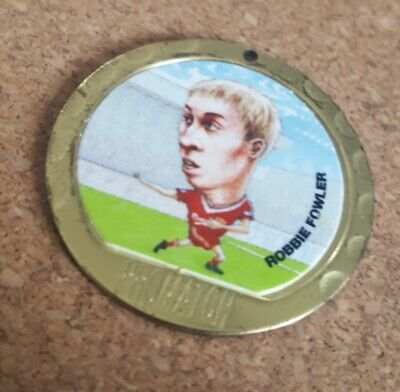 Promatch 97 (1997) Football Player Coin Medals Single Medallion. Robbie Fowler • 2.24£