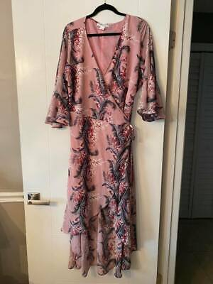 Glamorous Tropical Inspired High Low Dress Plus Size (size 16)  • 25.33£