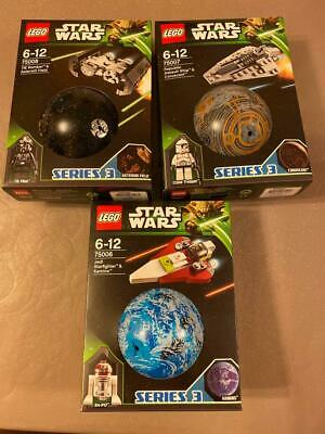 Lego Star Wars Planet Sets Series 3 75006 - 75008 From 2013 ** Brand New ** • 74.99£