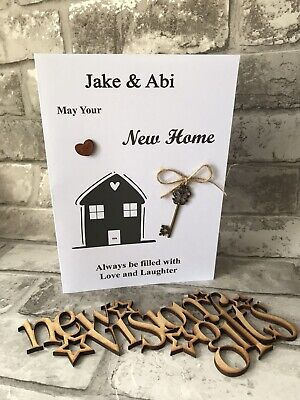New Home Personalised Card • 1.99£