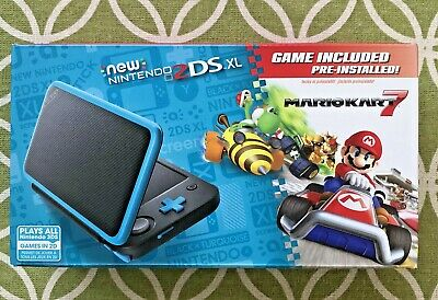 $ CDN197.66 • Buy Nintendo 2DS XL - Black + Turquoise With Mario Kart 7 Pre-installed NEW!