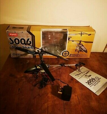 £35 • Buy Syma S006 Alloy Shark Remote Helicopter Toy Helicopter - Excellent Condition