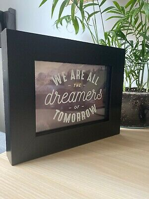 AU30 • Buy 3D Inspirational Quote Frame