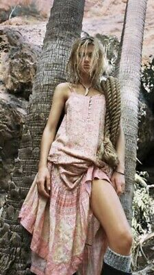 AU170 • Buy Spell And The Gypsy - Poinciana Maxi Dress Cotton Candy - Size S