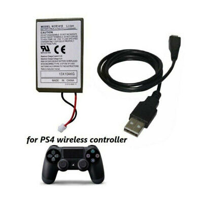 AU7.89 • Buy 1X Rechargeable Battery For PS4 Controller 2000mAh Replacement & Charging Cable