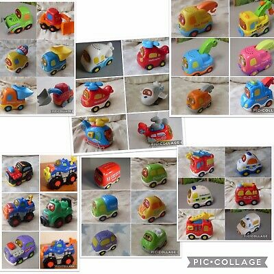 £4.99 • Buy Vtech Toot Toot Drivers Press & Go Cars Pick Up Truck Racer Fire Engine Tractor