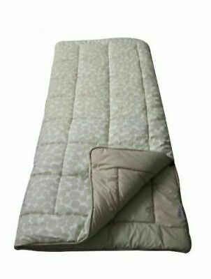 ORB Super Deluxe King Size 600g/m² Sleeping Bag Grey Camping Comfortable Soft • 44.90£