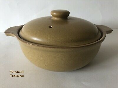 Vintage Denby Ode Casserole Dish And Lid  - Great Condition • 11.99£