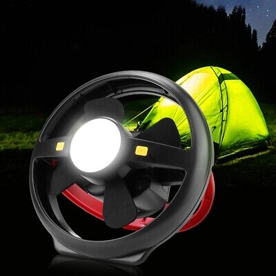 £26.31 • Buy Tent Fan Light LED Camping Hiking Equipment Outdoor Portable Ceiling Lamp Light
