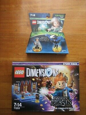 AU40 • Buy LEGO DIMENSIONS Fantastic Beasts Story Pack 71253 & Fun Pack 71257. Brand New.