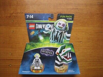 AU55 • Buy LEGO Dimensions Beetlejuice Fun Pack 71349. Brand New And Sealed.