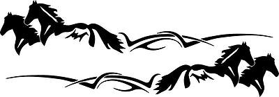 $ CDN65.90 • Buy 2  HORSE TRAILER DECALS GRAPHICS Stickers LARGE RV -945-2