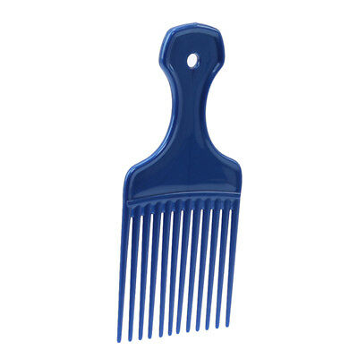 £2.34 • Buy Afro Hair Comb Fork Black Hairdressing Hairs Brush Pick Curly Styling Supplies F