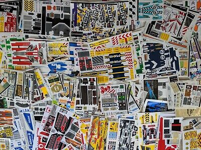Stickers Original LEGO Neuf De 8000 à 10000 (Technic,System,Star Wars,Racer) • 1.78£
