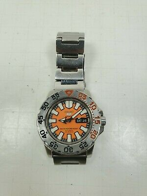 $ CDN284.44 • Buy Seiko Baby Orange Monster 5 SNZF49 Automatic Watch Diver 7S36-03D0