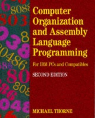 £2.09 • Buy Computer Organization And Assembly Language Programming : For IBM PC's And...