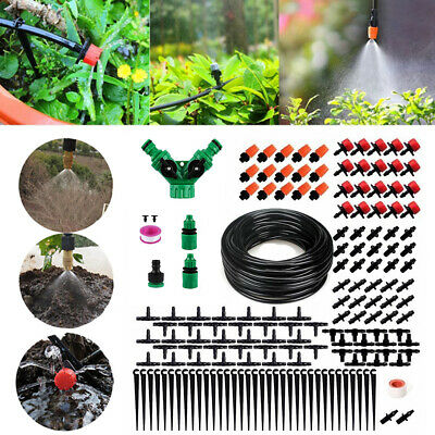 40M Automatic Drip Irrigation System Kit Plant Timer Self Watering Hose UK Stock • 32.58£