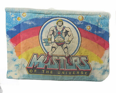 $23 • Buy Vintage 80s Masters Of The Universe Pillow Case Mattel Brand AA34