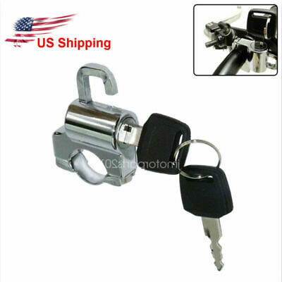 $13.80 • Buy Chrome Motorcycle Helmet Lock For Suzuki GSXR600 GSXR750 GSXR1000 Hayabusa 1300R
