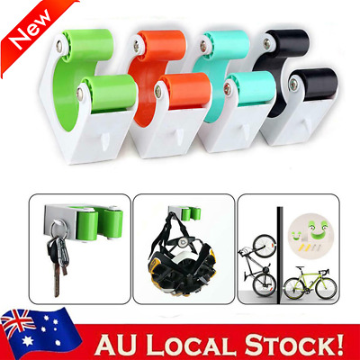 AU16.01 • Buy Road Bike Wall Mount Bracket Indoor Bicycle Storage Parking Rack Holder Hangers