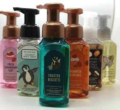 New Bath And Body Works Gentle Foaming Hand Soap - Winter Updated Stock 2021 • 10.99£