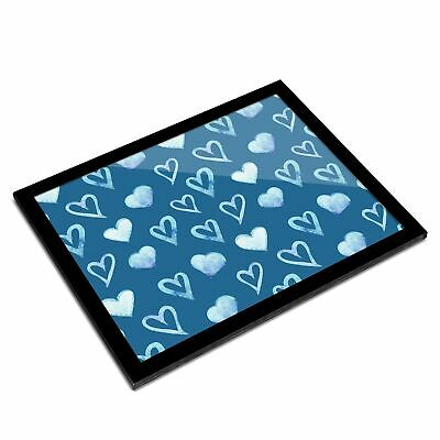 A3 Glass Frame  - Blue Love Hearts Boys Boyfriend  #44373 • 29.99£