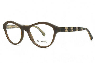 £77.87 • Buy CHANEL Eyeglasses 3291 1484 52-17-140 BROWN New Authentic Without Case