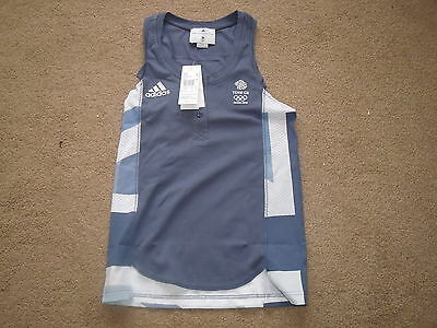 Adidas Womans Running Shirt Team Gb 2012 London Olympics • 10£