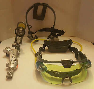 Wild Planet Spy Gear Lot With Night Vision Goggles • 14.47£