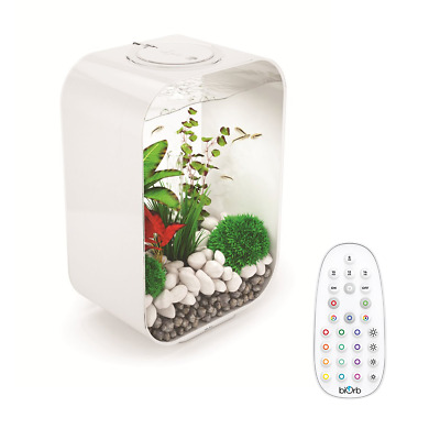 Biorb Life 45l Aquarium Fish Tank With Filter Unit Led Lighting Air Pump • 279.99£